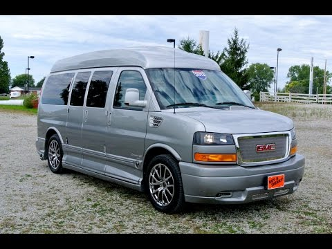 2010 Gmc Explorer Nine Passenger Conversion Van