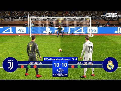 PES 2019 | Juventus vs Real Madrid | Final UEFA Champions League (UCL) | Penalty Shootout