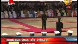 Sarath Fonseka Becomes the Fist Field Marshal of Sri Lanka