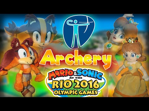 ABM: Daisy Vs Sticks !! Mario & Sonic at the Rio 2016 Olympic Games (Archery)