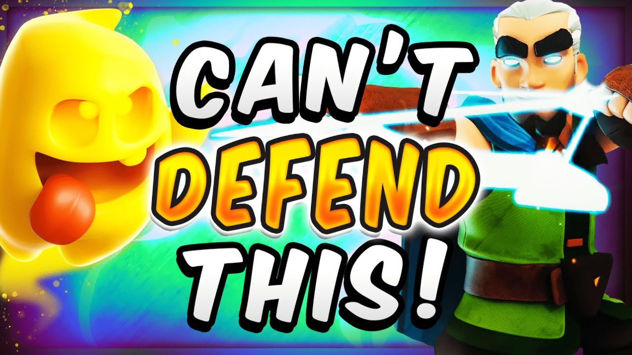 THIS IS UNFAIR! RAGE + HEAL CAN'T BE COUNTERED! — Clash Royale