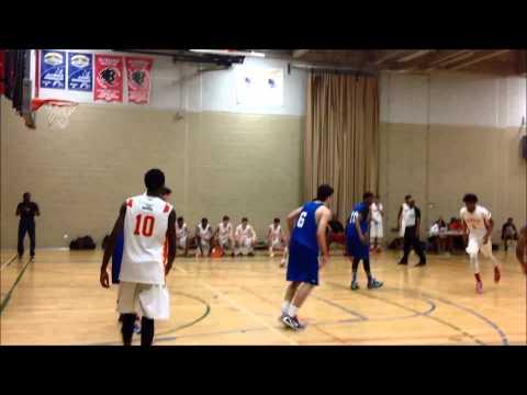 Basketball u17 boys vs Vanier19 - Brookwood Invitational in Montreal, Quebec