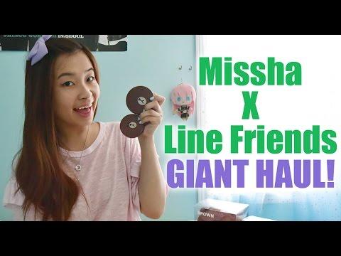 Missha X Line Friends GIANT HAUL!!!