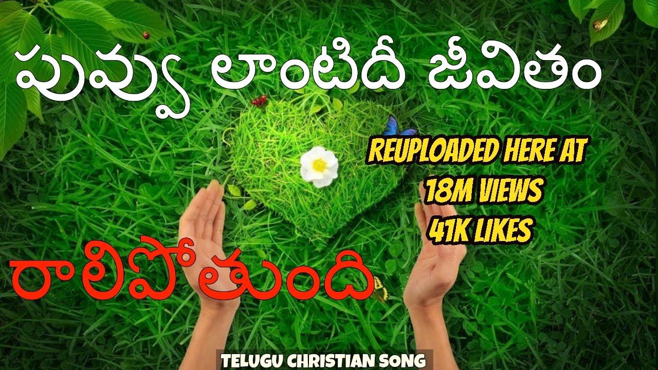 Download పువ్వు లాంటిది జీవితం - Puvvu lantidi jeevitham with lyrics
