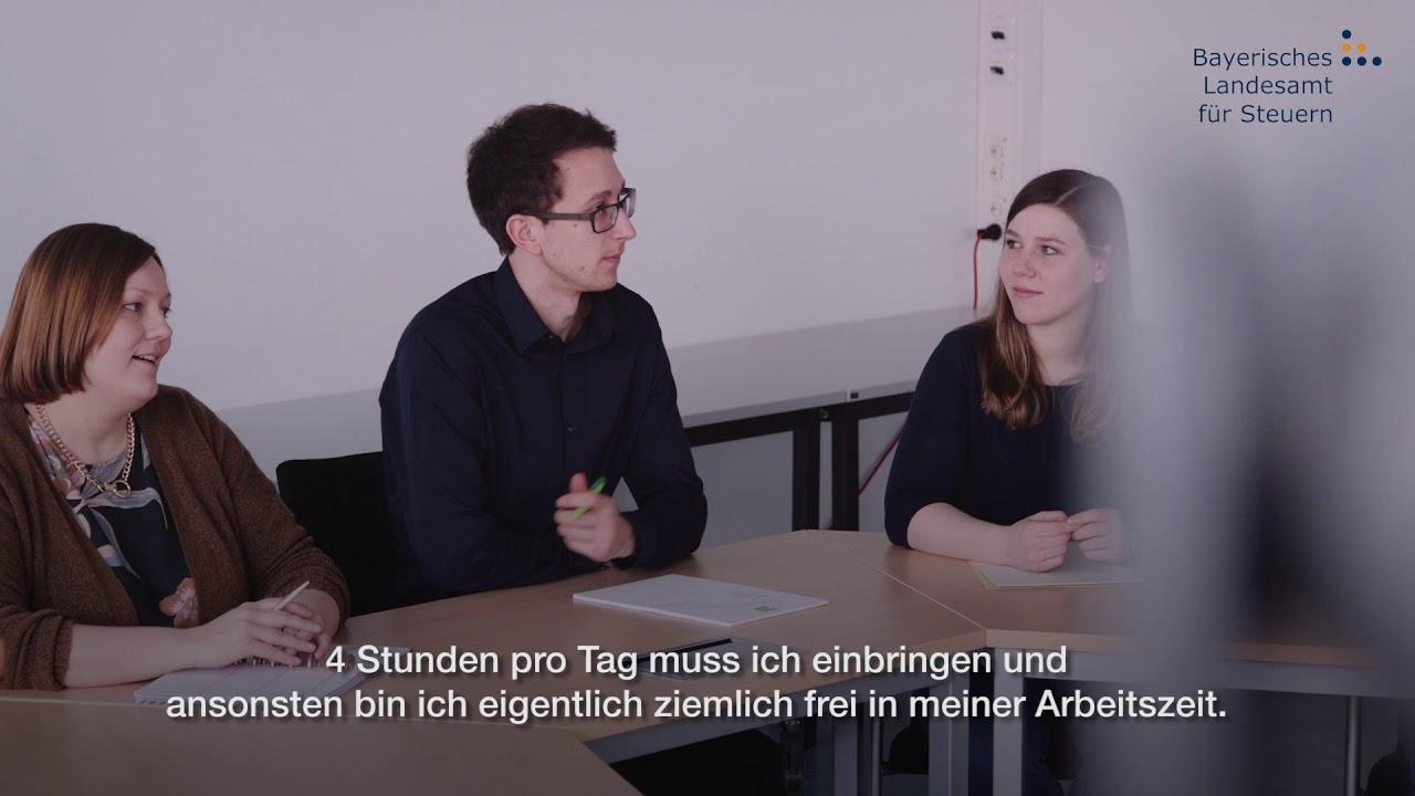 Informatik Dual Studieren Am Bayerischen Landesamt Fur Steuern Mit Untertitel Youtube