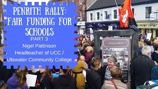 3   schools just wanna have funds nigel pattinson ht for ucc ullswater community college