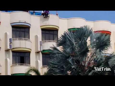 The Flying Fox Ride @ HARRIS Waterfront Resort Batam