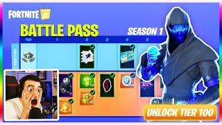 "Season 11 ""BATTLE PASS"" Overview! - New Tier 100 Skin (Fortnite Chapter 2 Battle Royale)"