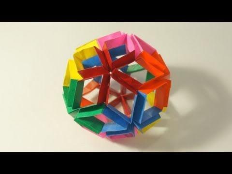 Kusudama | Origami diagrams, Modular origami, Origami paper | 360x480
