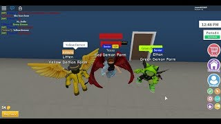 Yellow Demon and Red Demon VS Green Demon Roblox With EC Gaming and Litten Gaming17