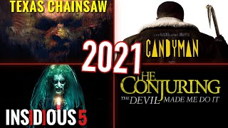 EVERY UPCOMING HORROR MOVIE OF 2021