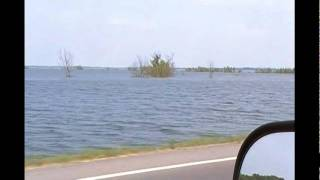 The Great Flood of 2011 - The Morganza Spillway - South Louisiana 05-12-2011 Part 1!
