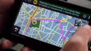 видео GPS-навигатор Garmin Nuvi 1410T