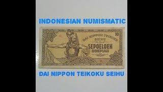 Video 10 RUPIAH DAI NIPPON TEIKOKU SEIHU 1943 INDONESIA NUMISMATIK download MP3, 3GP, MP4, WEBM, AVI, FLV November 2017