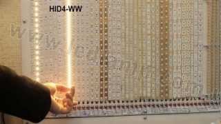 Сравнение светодиодных лент белого свечения. Видео-обзор.