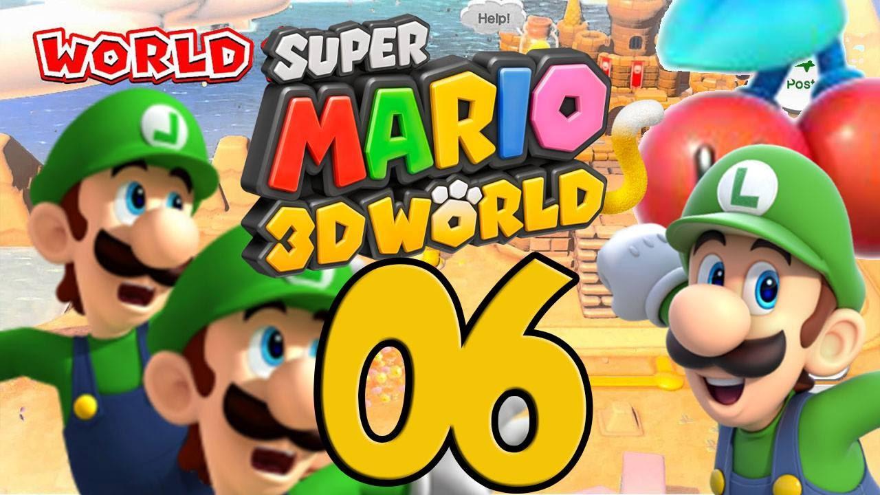 Lets Play Super Mario 3D World [German] Part 6: Gitter