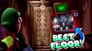What is the BEST Floor in Luigi's Mansion 3!?! [Top 17]