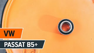 Hur byter man Hjullagersats VW PASSAT Variant (3B5) - online gratis video
