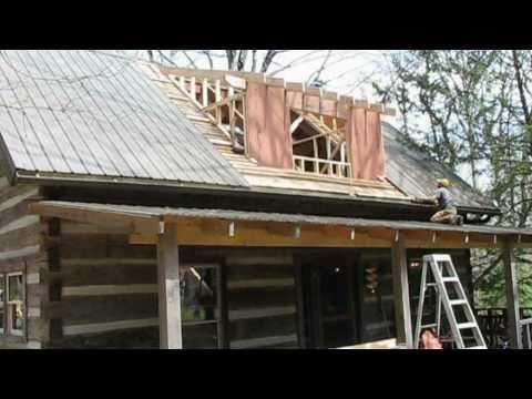 Mountain Cabin Renovation - Vlog #12 - Dormer Framing and Stair Building