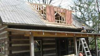 Mountain Cabin Renovation - Vlog 12 - Dormer Framing and Stair Building