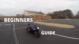 Beginners Guide: How to EASILY ride a motorcycle | GSXR 750