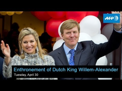 AFP Live - Royal Water Pageant in Amsterdam - starts at 18:15 GMT (20:15 local time)
