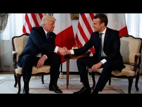 Trump's handshakes analyzed