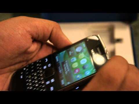 Nokia E6 Unboxing