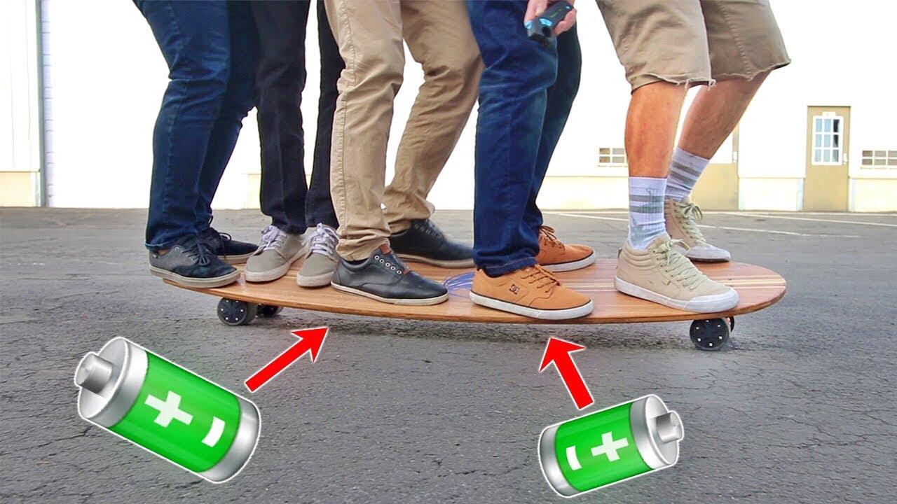 4-motors-2-batteries-electric-skateboard