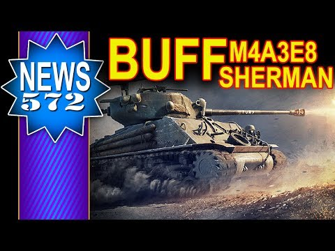 Buff dla M4A3E8 Sherman - NEWS - World of Tanks