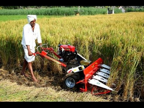 Power Reaper ( Rice & wheat Cutting Machine ) By HOPE India