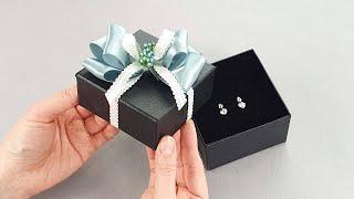 액세서리상자 고급스럽게 포장하는법 / How to wrap a Jewelry box / 프로포즈 상자포장법 …