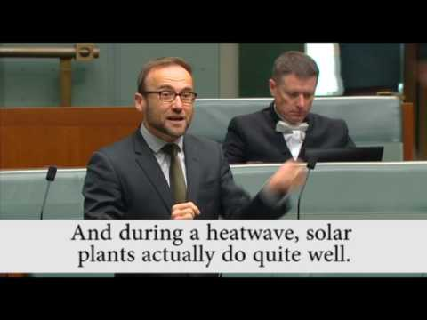 Sun goes down on Greens' solar claim
