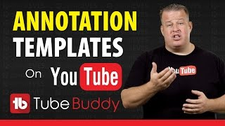 How to Create YouTube Video Annotations Templates(Learn how to create YouTube video annotation templates and save a lot of time! Download TubeBuddy Free Today! ➜ http://goo.gl/PrGfLe Yes YouTube Video ..., 2015-11-07T18:00:02.000Z)