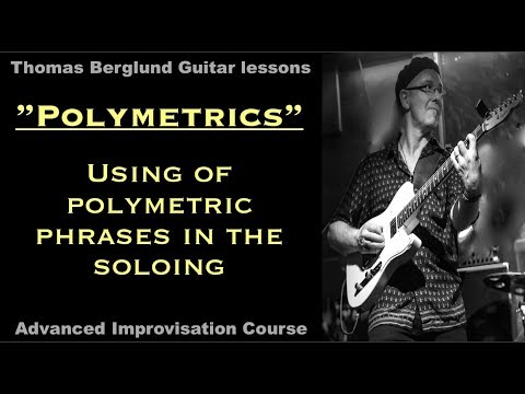 Using of polymetric phrases in the soloing / Advanced Improvisation // Guitar lessons