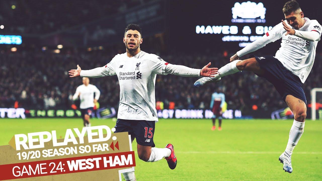 REPLAYED: West Ham 0-2 Liverpool | Ox & Salah make it 19 points at the London Stadium