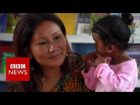The woman who's rescued 1,600 children - BBC News