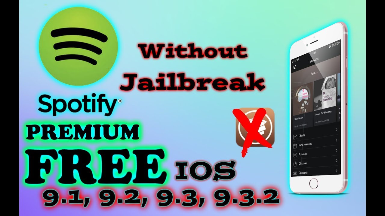 how to get free spotify premium on ios and android no jailbreak required