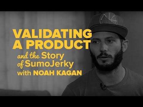Validating a Product and the Story of SumoJerky with Noah Ka