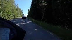 Korpilahti-Sysmä seututie 612 ja seututie 610. Päijänteen mutkatie.