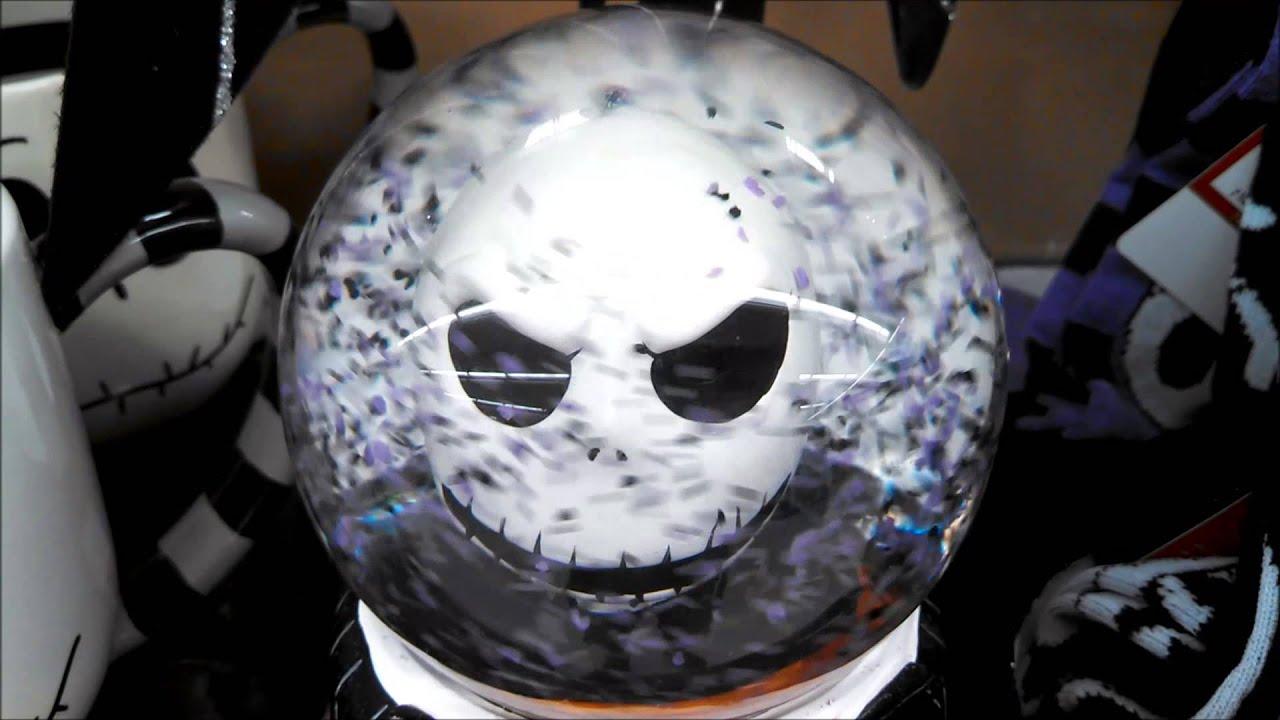 Musical Snow Globe Nightmare Before Christmas Movie - YouTube