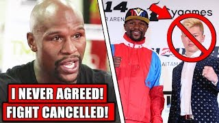 Floyd Mayweather CANCELS NEW FIGHT vs Tenshin Nasukawa, Ariel exposes Khabib