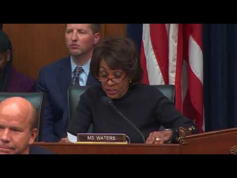 Waters Statement at Hearing with Vice Chairman for Supervision of the Federal Reserve - 04/17/2018