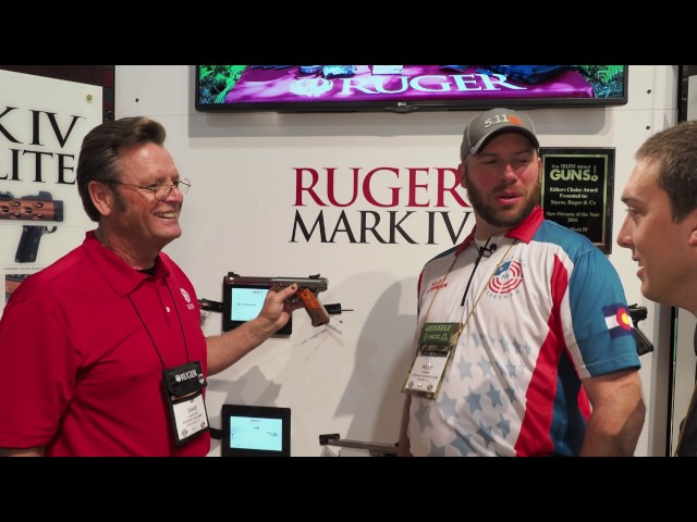 Ruger Mark IV Introduced by Ruger Lead Designer