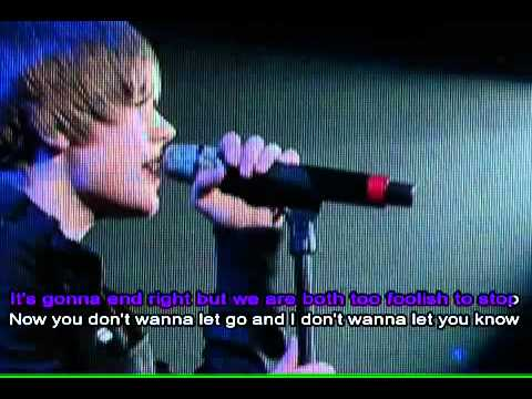 Stuck In The Moment in the style of Justin Bieber Karaoke Instrumental Lyrics