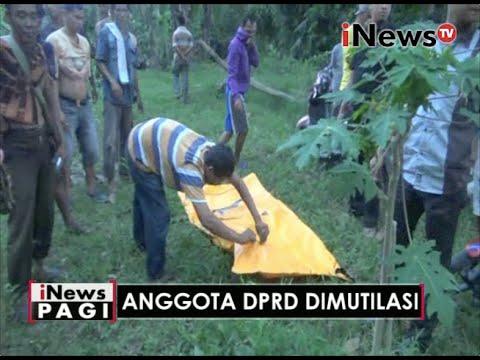 TERUNGKAP!! Mayat Korban Mutilasi Ternyata Anggota DPRD Lampung Muhammad Pansor - INews Pagi 31/05