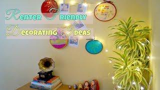 Renter Friendly Wall Decor Ideas