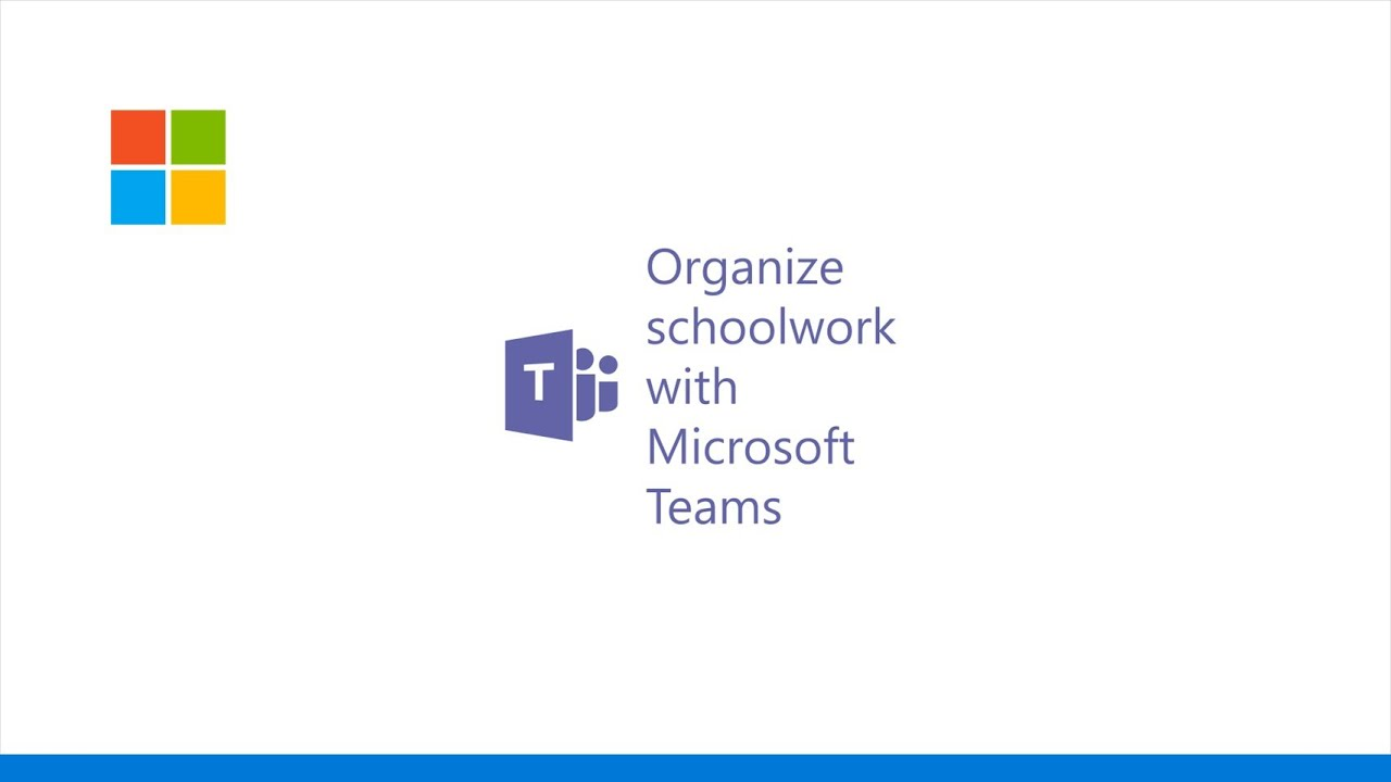 Organize schoolwork with Microsoft Teams