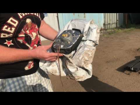 Как стреляют подушки безопасности AirBag