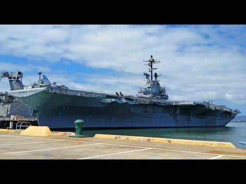 USS Hornet walk through